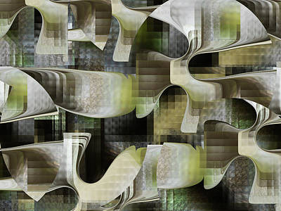 Digital Art - Doorways In Time by rd Erickson
