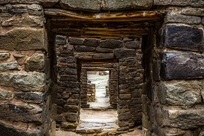 Photograph - Doorways Into The Past by Ron Pate