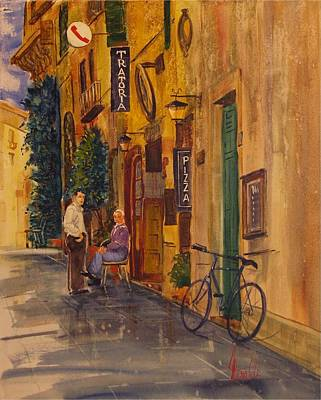 Painting - Dopo La Pioggia by Gerald Miraldi