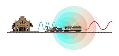 Ballot Wall Art - Photograph - Doppler Effect Experiment by Jose Antonio Penas/science Photo Library