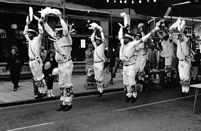 Photograph - Dorchester Morris Dancers by Guy Pettingell