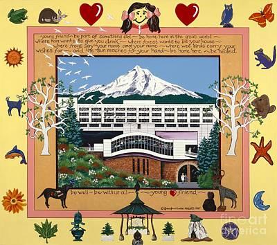 Dorenbecher Hospital Art Print