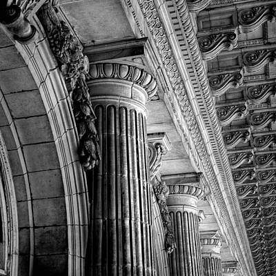 Photograph - Doric Strength by Mike Lanzetta