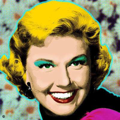 Engraving Digital Art - Doris Day by Gary Grayson