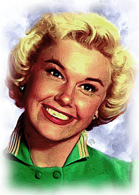 Blockbuster Painting - Doris Day by Paul Quarry