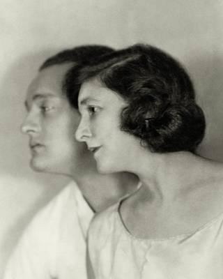 Doris Keane And Basil Sydney Art Print