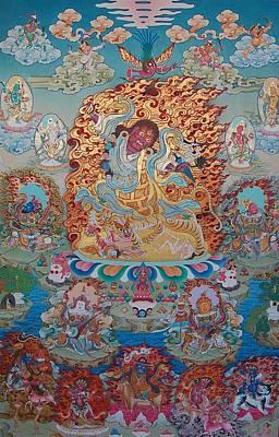 Vajrayana Painting - Dorje Drollo by Binod Art School