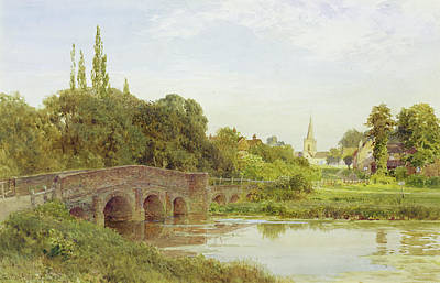 Dorking  Art Print by Henry Sutton Palmer
