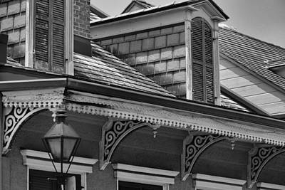 Photograph - Dormers And Corbels by Nadalyn Larsen