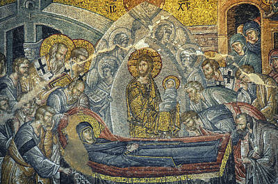 Dormition Of The Virgin Print by Taylan Apukovska