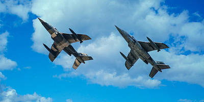 Photograph - Dornier Alpha Jets by Bianca Nadeau