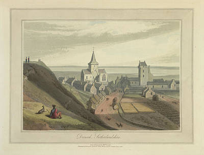 Dornoch Town In Sutherlandshire Art Print by British Library