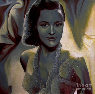 Painting - Dorothy Dandridge by Chelle Brantley