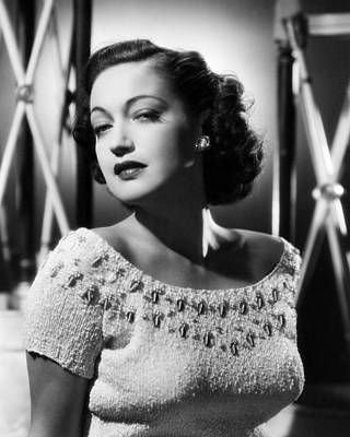Dorothy Photograph - Dorothy Lamour by Silver Screen
