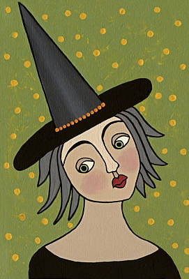 Witch Painting - Dorothy by Medana Gabbard