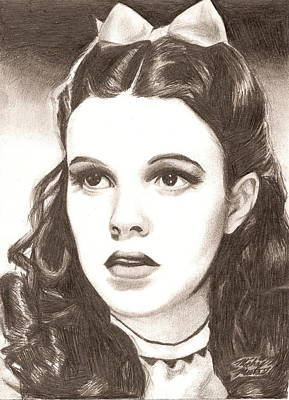 Drawing - Dorothy by Michael Mestas