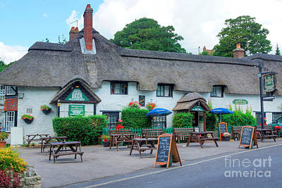 Photograph - Dorset Country Pub by David Birchall