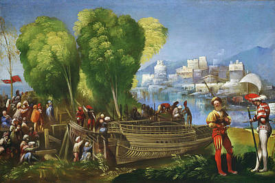 Aeneas Painting - Dosso Dossi Italian, Active 1512-1542, Aeneas And Achates by Litz Collection