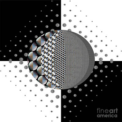 Digital Art - Dot by Barry Lamont