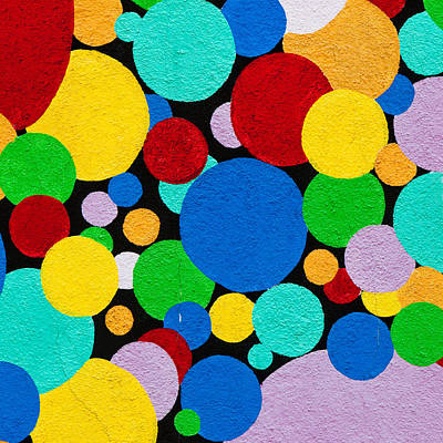 Dot Graffiti Print by Art Block Collections