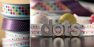 Photograph - Dotty Diptych by Lisa Knechtel