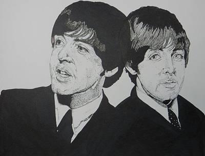 Mccartney Drawing - Dou Pauls by Rori Shapiro
