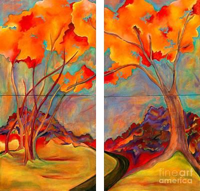 Double Arbor Art Print