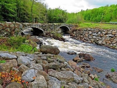 Photograph - Double Arch Bridge by MTBobbins Photography