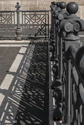 Budapest Sightseeing Tours Photograph - Double Barrier by Sabina Cosic