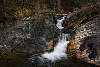 Photograph - Double Cascade by Mike Farslow