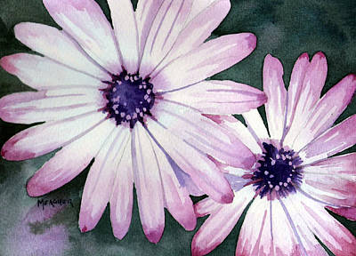 Daiseys Painting - Double Daisy by Spencer Meagher