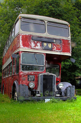 Photograph - Double Decker by Jim Vance