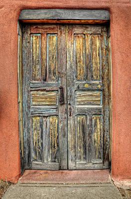 Photograph - Double Doors In Santa Fe by Ken Smith