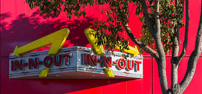 Photograph - Double Double With Cheese Animal Style Yum by Scott Campbell
