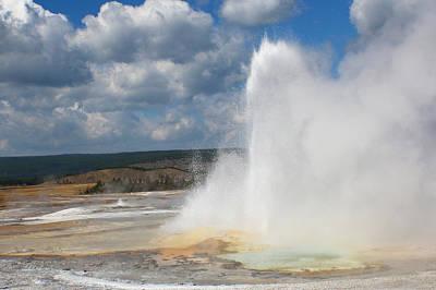 Photograph - Double Eruption 1 by Jon Emery