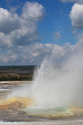 Photograph - Double Eruption 3 by Jon Emery