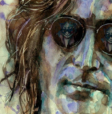 John Lennon Wall Art - Painting - Double Fantasy by Paul Lovering