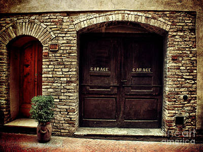 Photograph - Double Garage by Karen Lewis