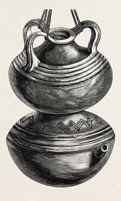 Double Gourd Water Jar Print by English School