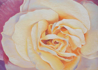 Garden Painting - Double Helix Rose by Christopher Reid