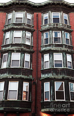 Photograph - Double Look In Boston by John Rizzuto