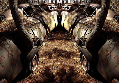 Photograph - Double Parked by Richard Erickson