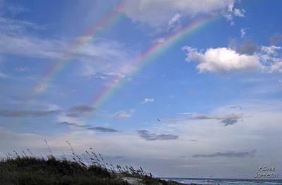 Photograph - Double Rainbow by Adam Johnson