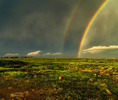 Photograph - Double Rainbow by Craig Brown