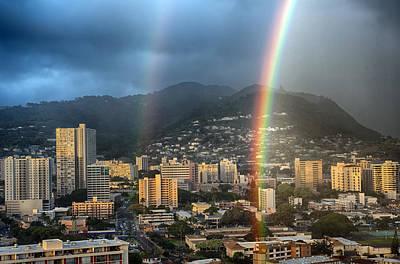 Photograph - Double Rainbow by Dan McManus