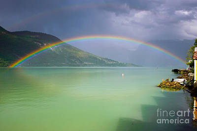Photograph - Double Rainbow by IPics Photography