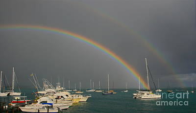 Photograph - Double Rainbow by Joan McArthur