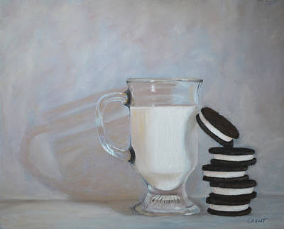 Painting - Double Stuff by Joanne Grant