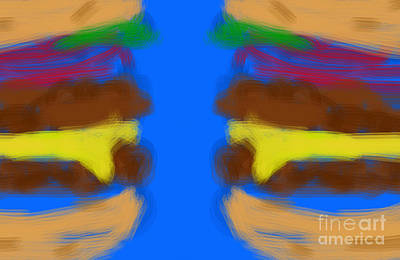 Digital Art - Double Trouble With Cheese by James Eye