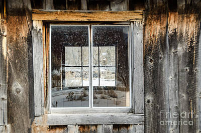 Bannack State Park Photograph - Doubling Up by Sue Smith